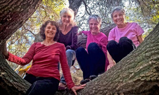 Joan Virginia Allen with her coauthors