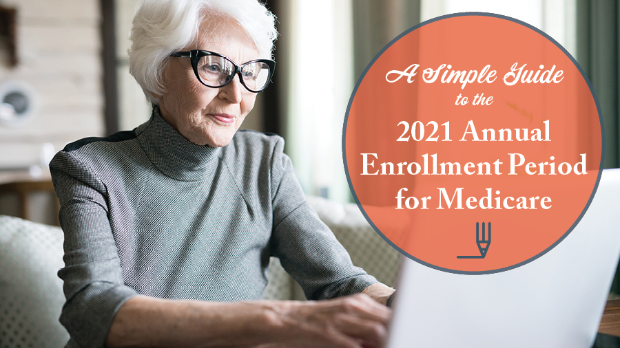 A Simple Guide to the 2021 Annual Enrollment Period for Medicare