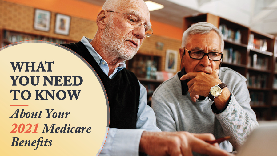 What You Need to Know About Your 2021 Medicare Benefits