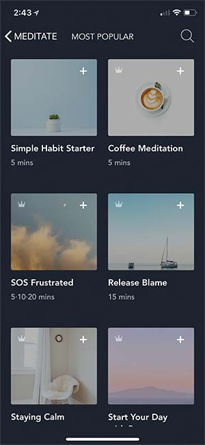 Simple Habit for Meditation