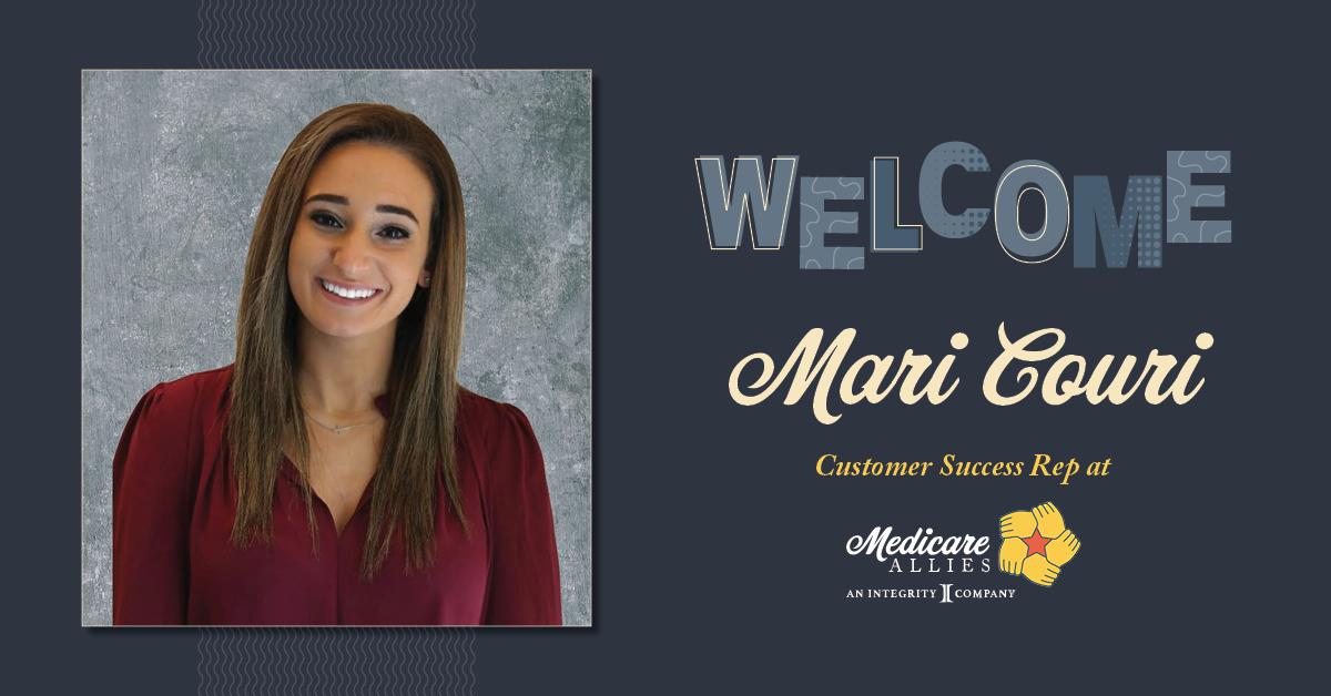 Welcome Mari Couri, Customer Success Rep at Medicare Allies