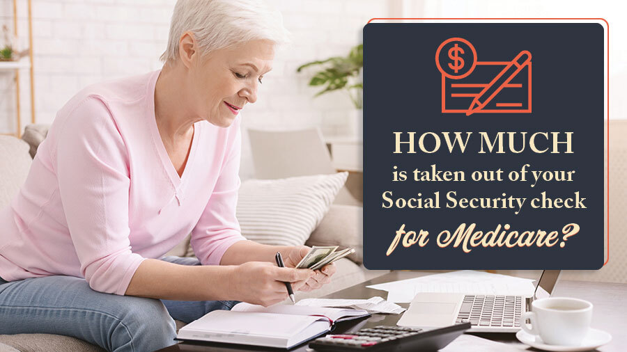 How much is taken out of your Social Security check for Medicare?