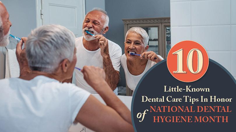 10 Easy Tips for Seniors to Improve Dental Hygiene