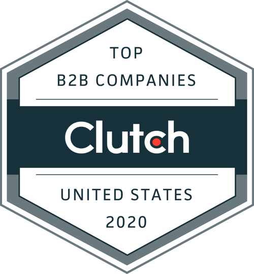 Prototypical has been awarded a place in the  Top B2B Companies in the United States in 2020
