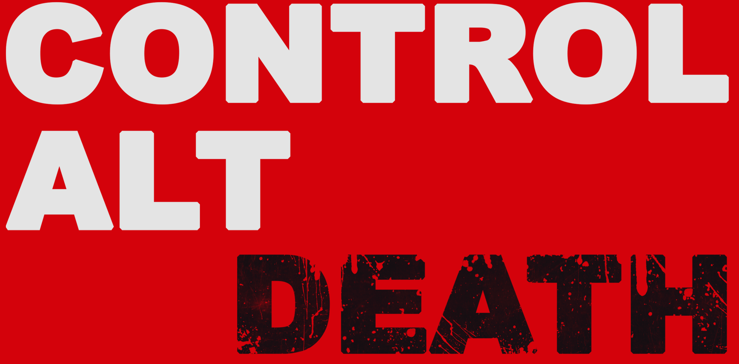 Control Alt Death Podcast main logo
