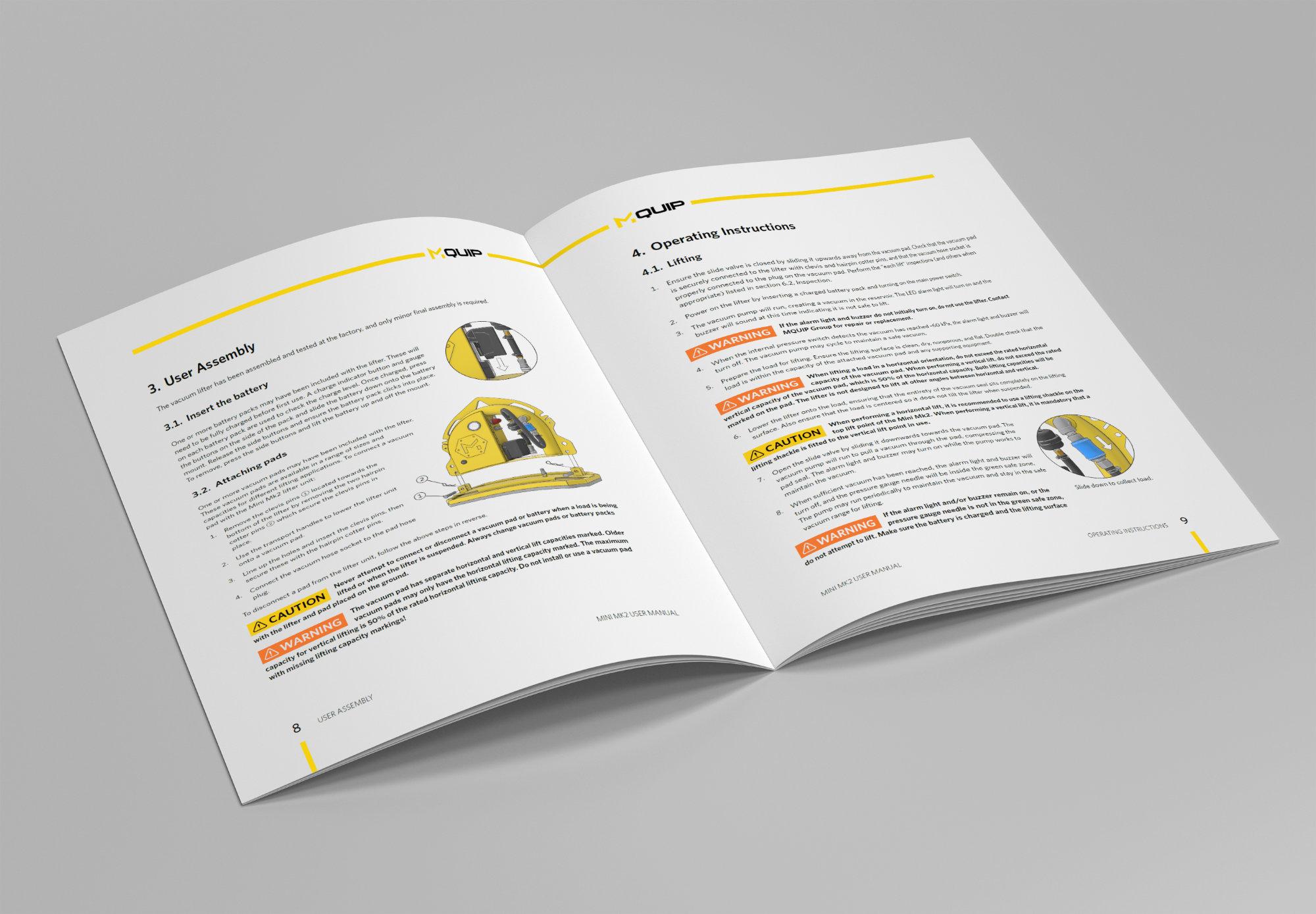 The Mini Mk2 user manual.