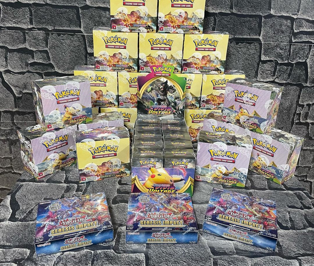 Pokemon cards at The Rift