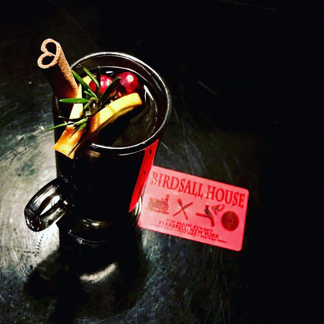 Birdsall House cocktail and gift card