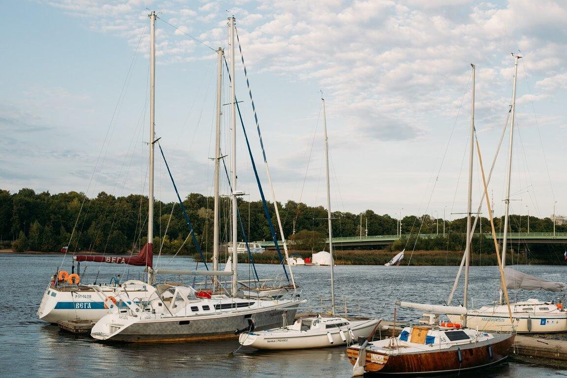 Yacht club in Saint Petersburg