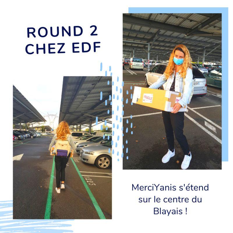Elise Givelet, CTO, déploie MerciYanis chez le CNPE du Blayais