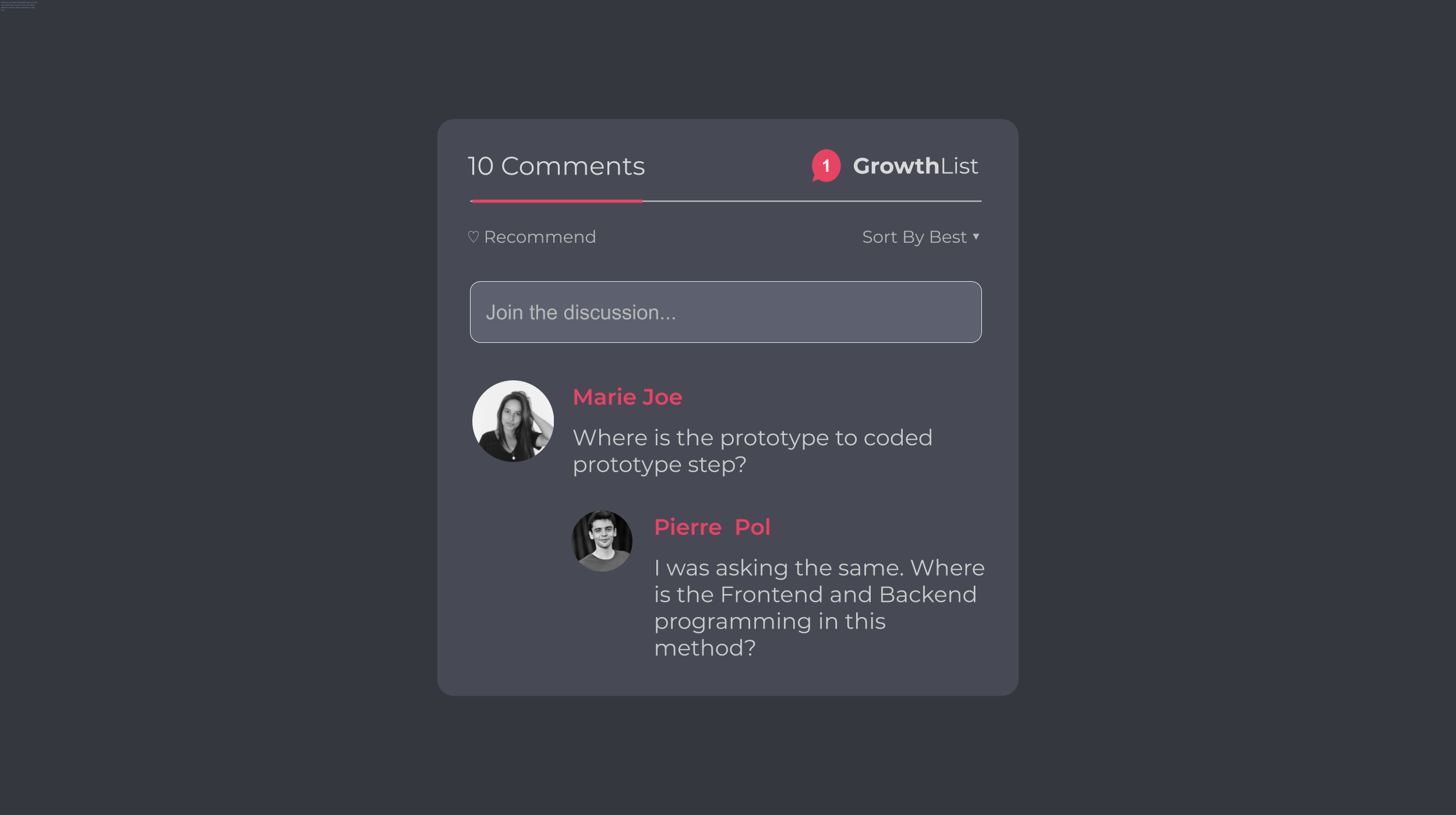 Enable Comments In Blog