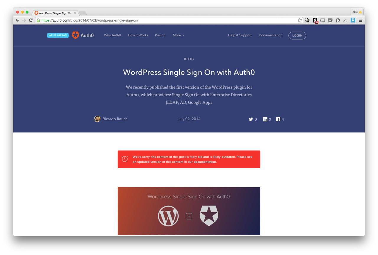 Auto0 wordpress feature page