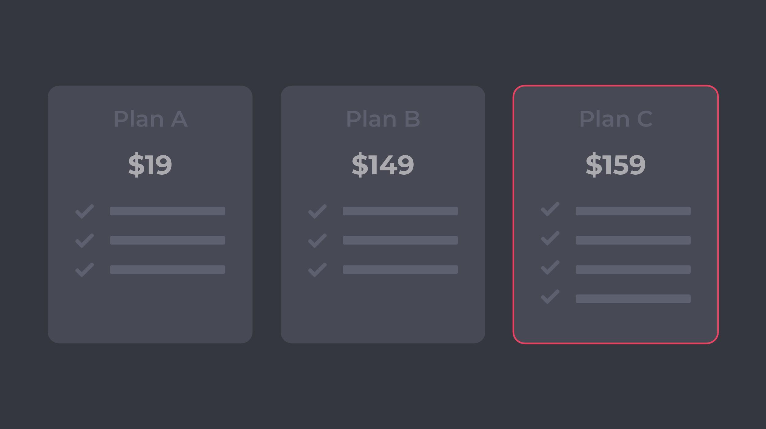 Decoy Pricing