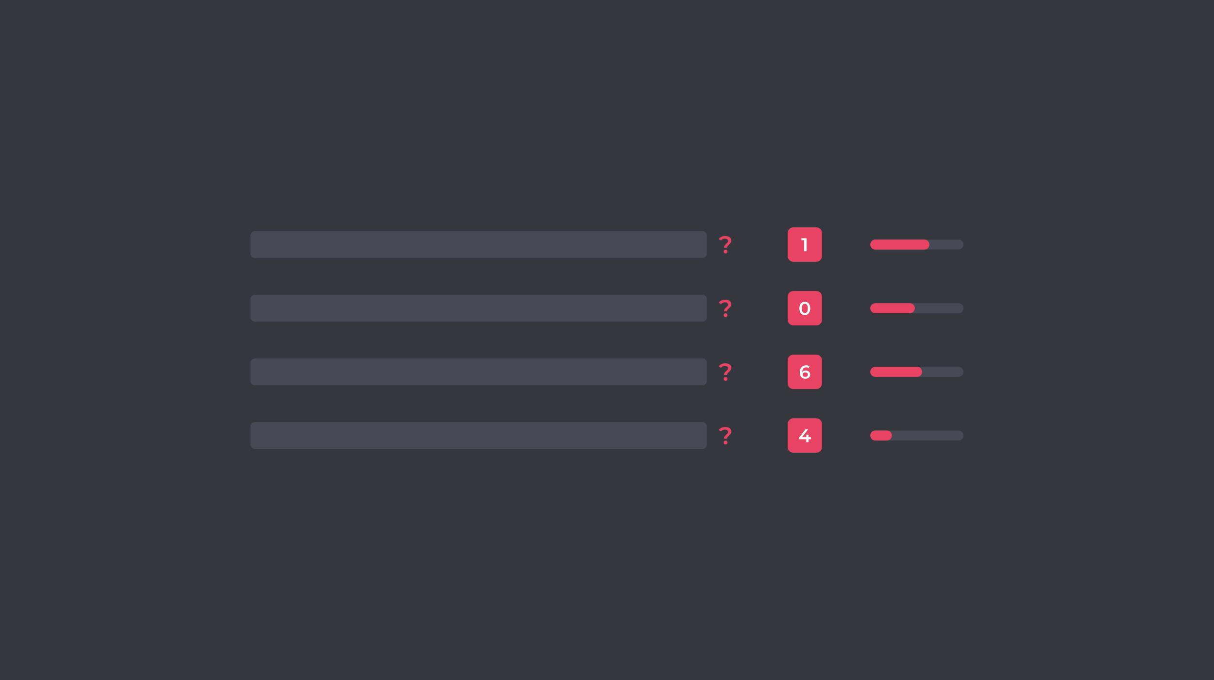 Question-Based Keywords