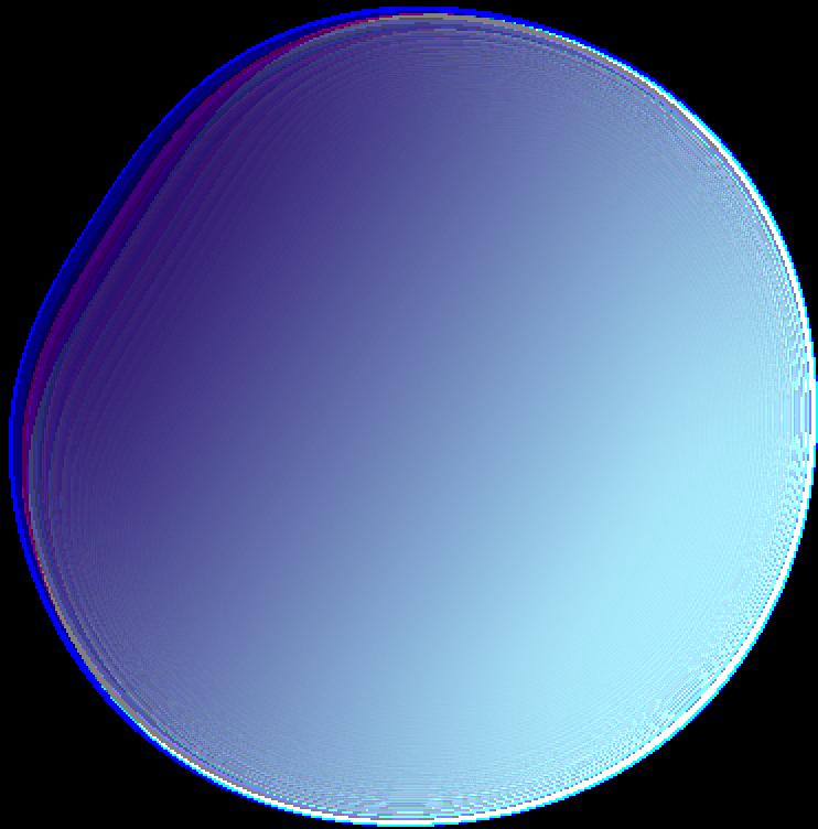 Background gradient ball