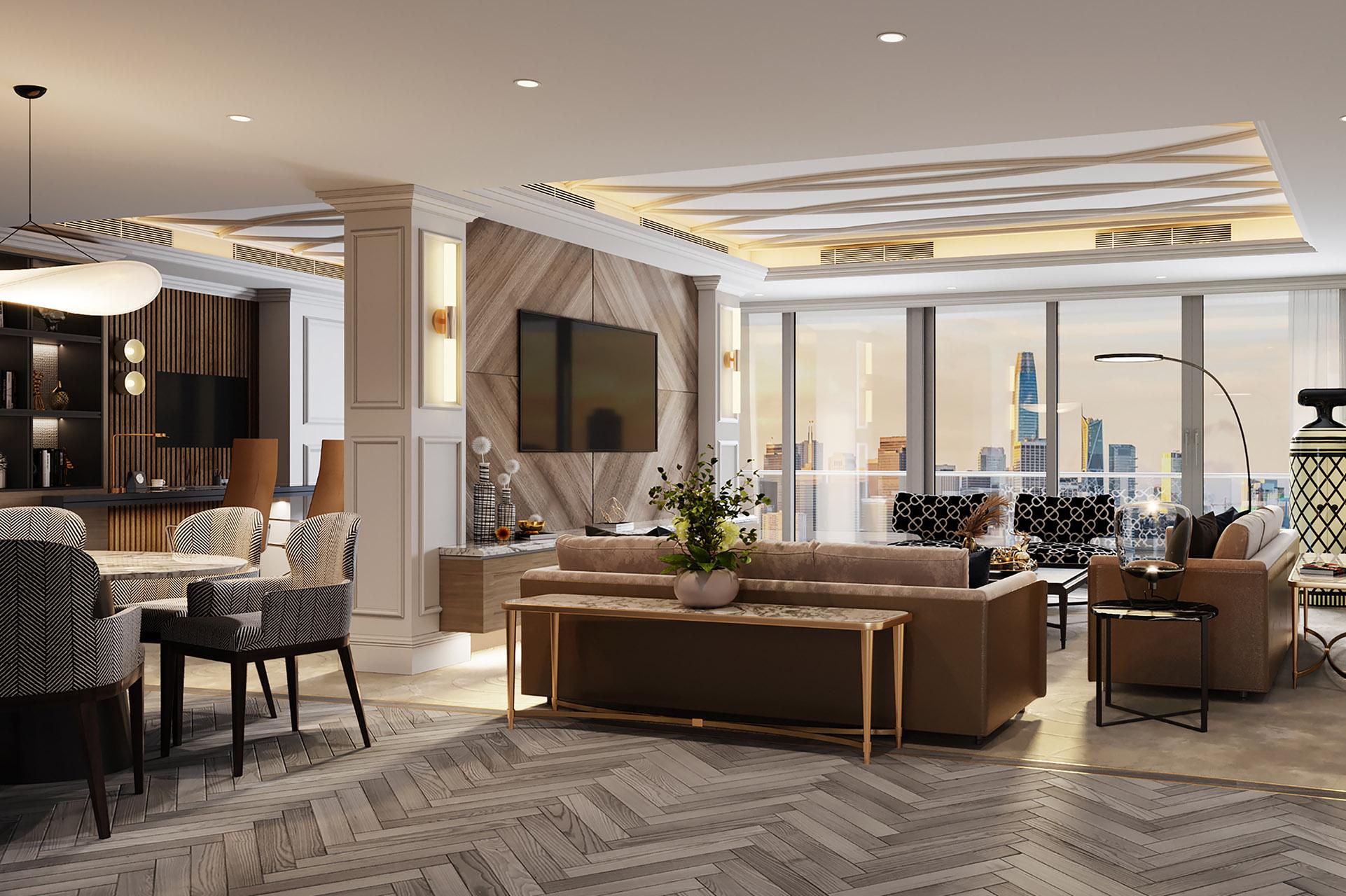 Dubai Residence, Address Boulevard