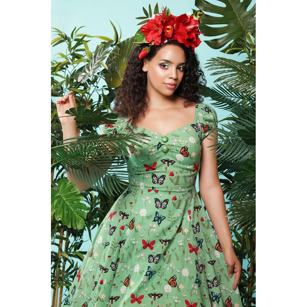Dolores Butterfly Doll Dress