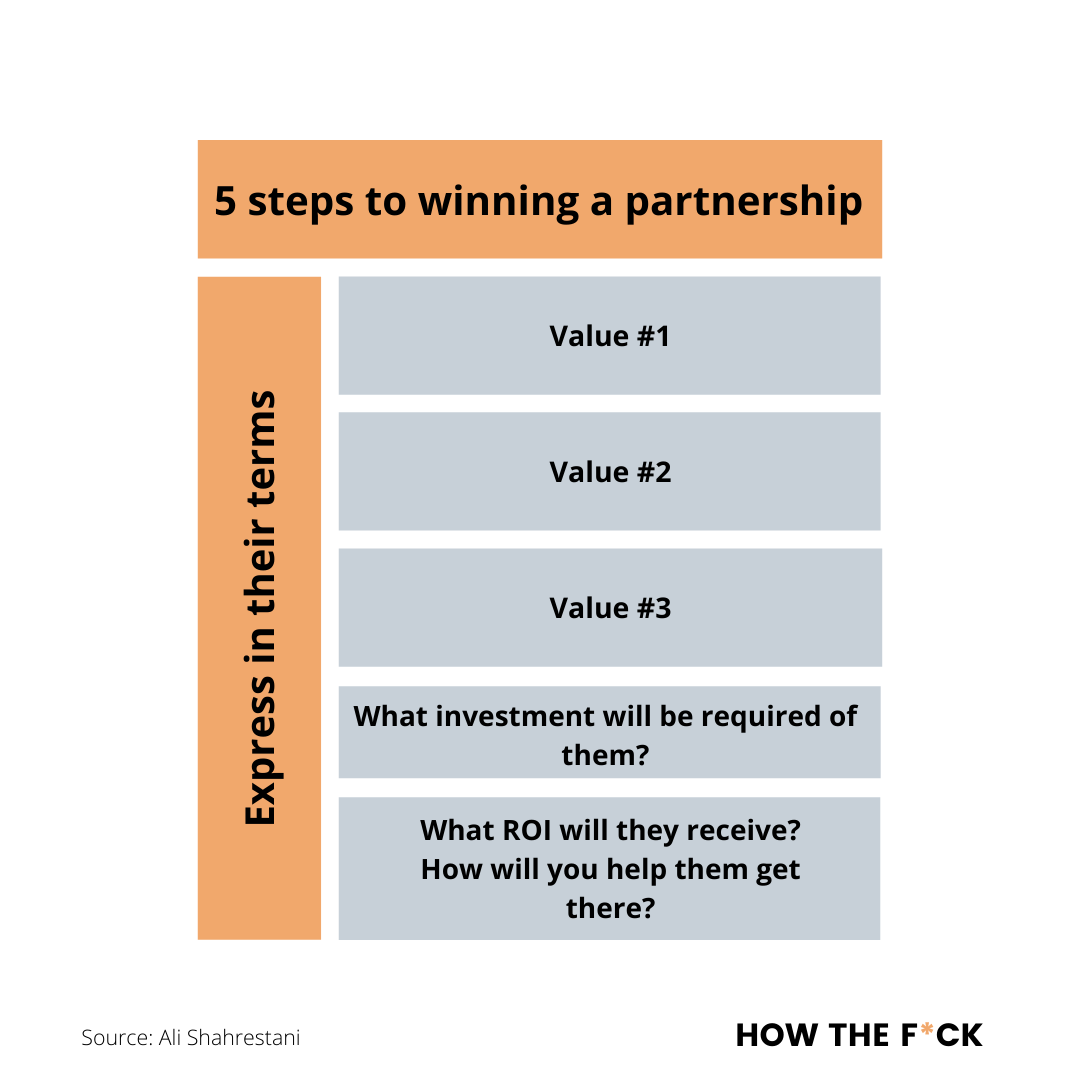 5 steps to winning a business partnershi