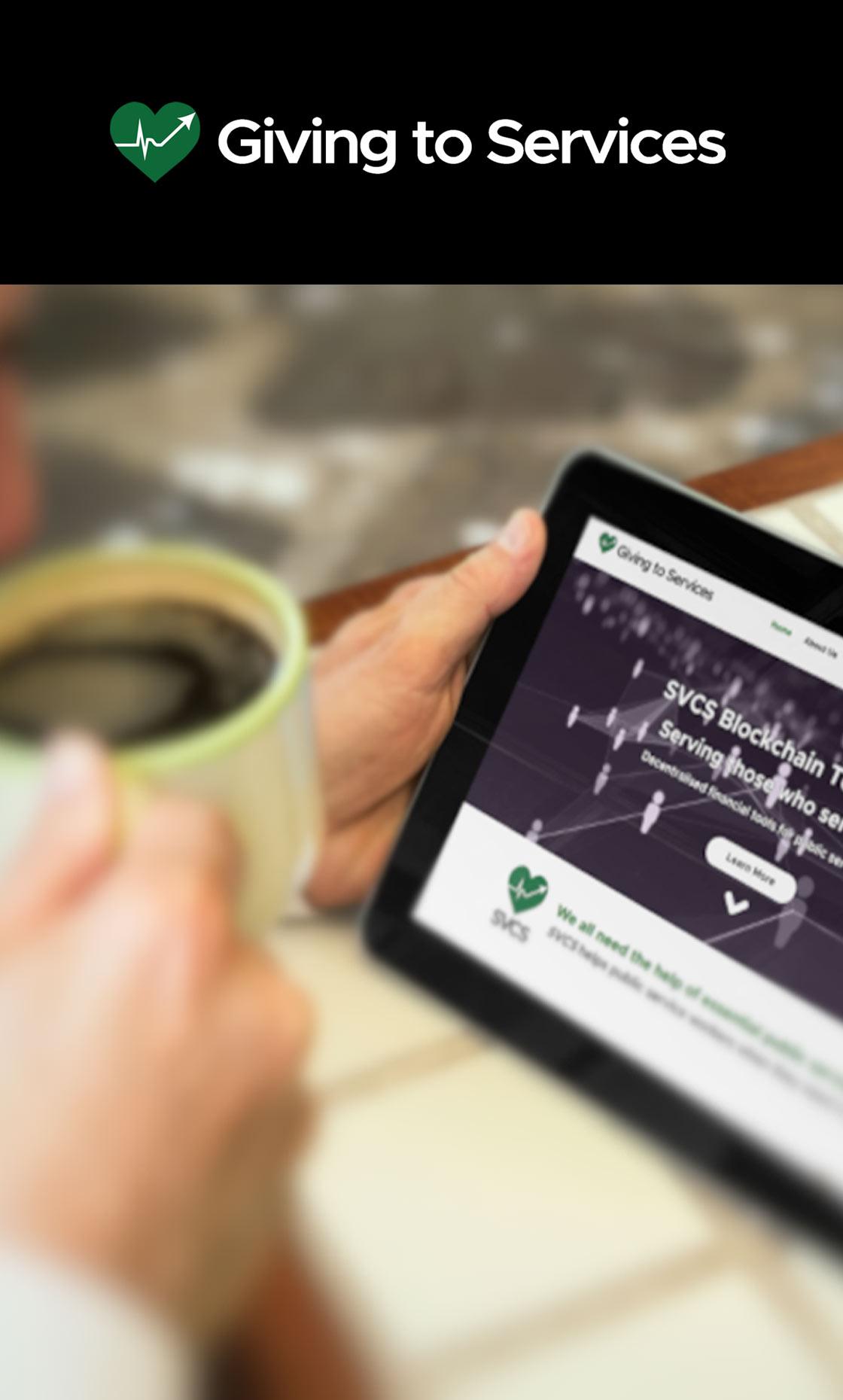Giving to Services - SVCS - Whitepaper, Branding & Marketing