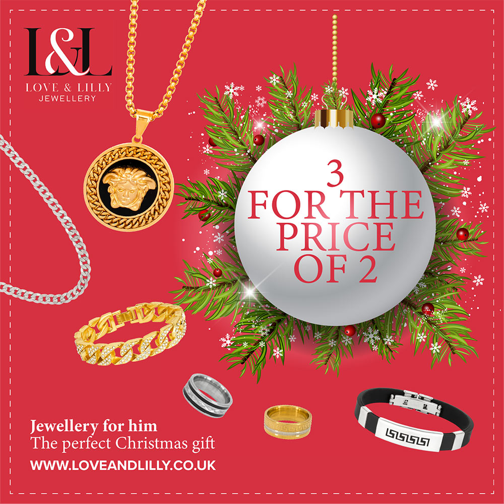 Christmas promotion for L&L Jewellery