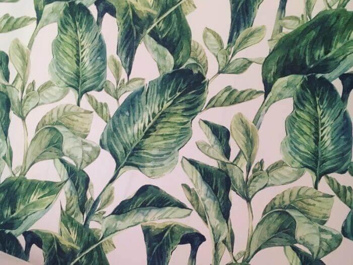Flower-Power für die Wohnung - Tapete als Wandschmuck