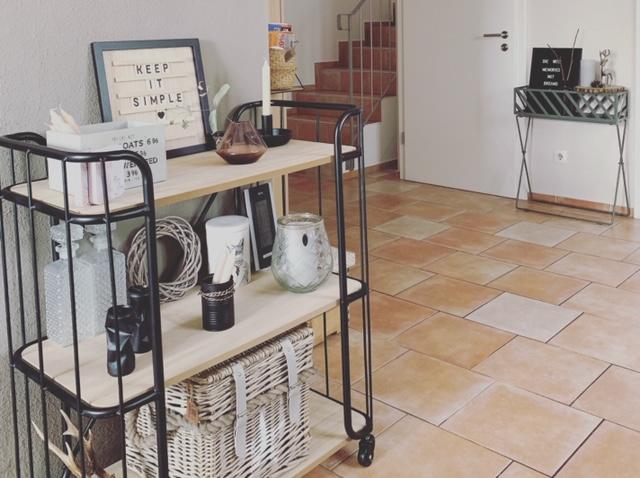 Franzi hat gerne ein wenig von allem was modern ist in ihrem Zuhause.