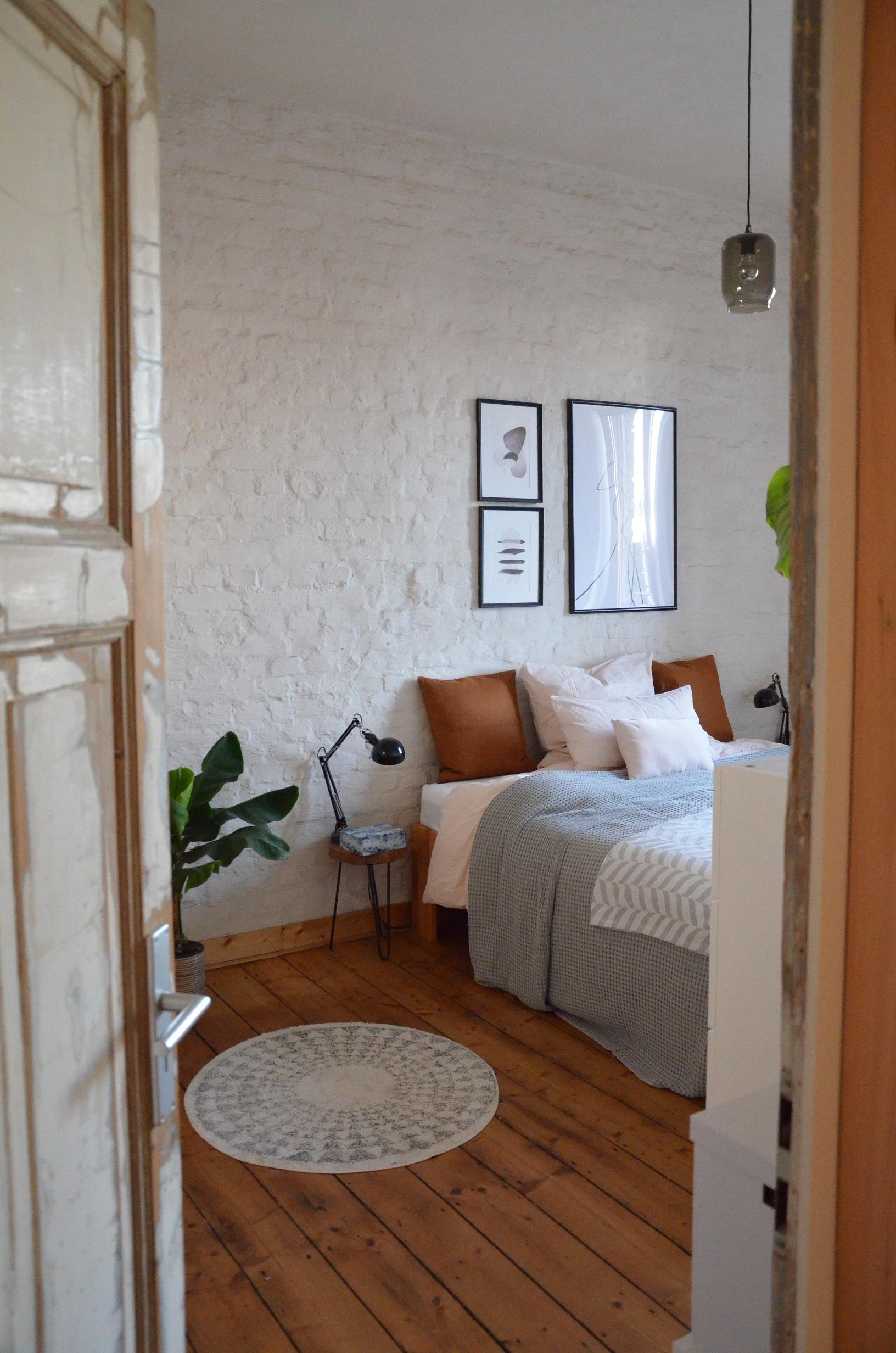 Karoline vereint Form mit Funktion in ihrer offenen Wohnung.