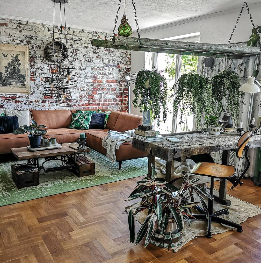 Manuela bringt Vintage und Urban Jungle zusammen.