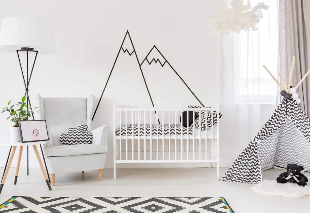 Inspiration - Kinderzimmer - weiß