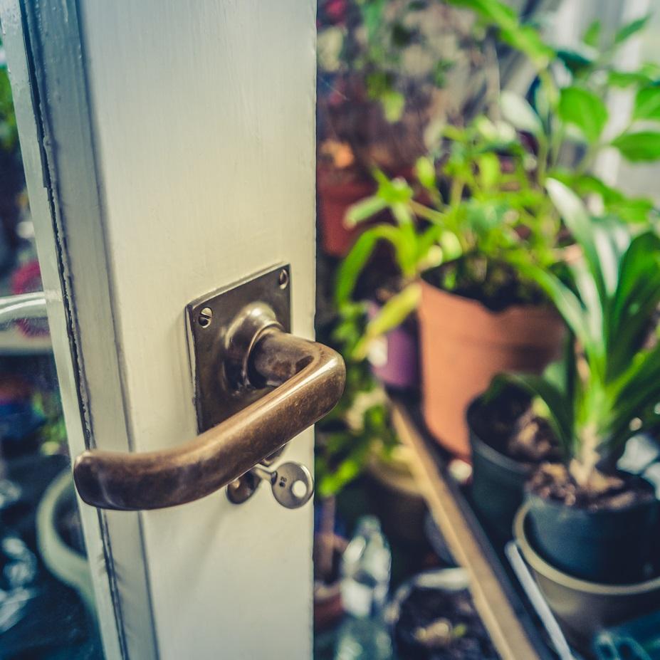 Zimmerschlüssel - Artikel Schutz vor Einbrecher