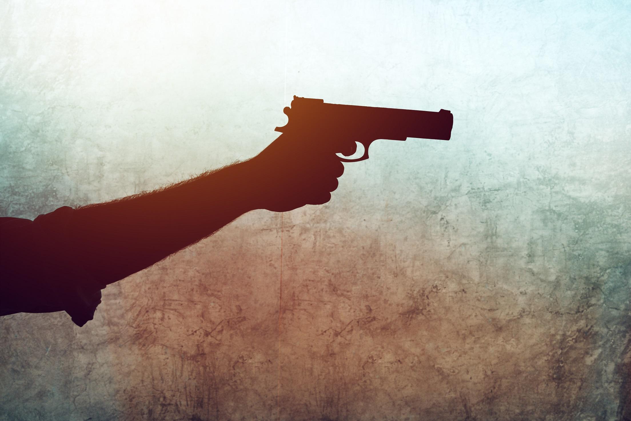 Bewaffnete Hand, war es der EInbrecher