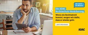 ADAC - Rechtsschutz-Versicherung - Werbung
