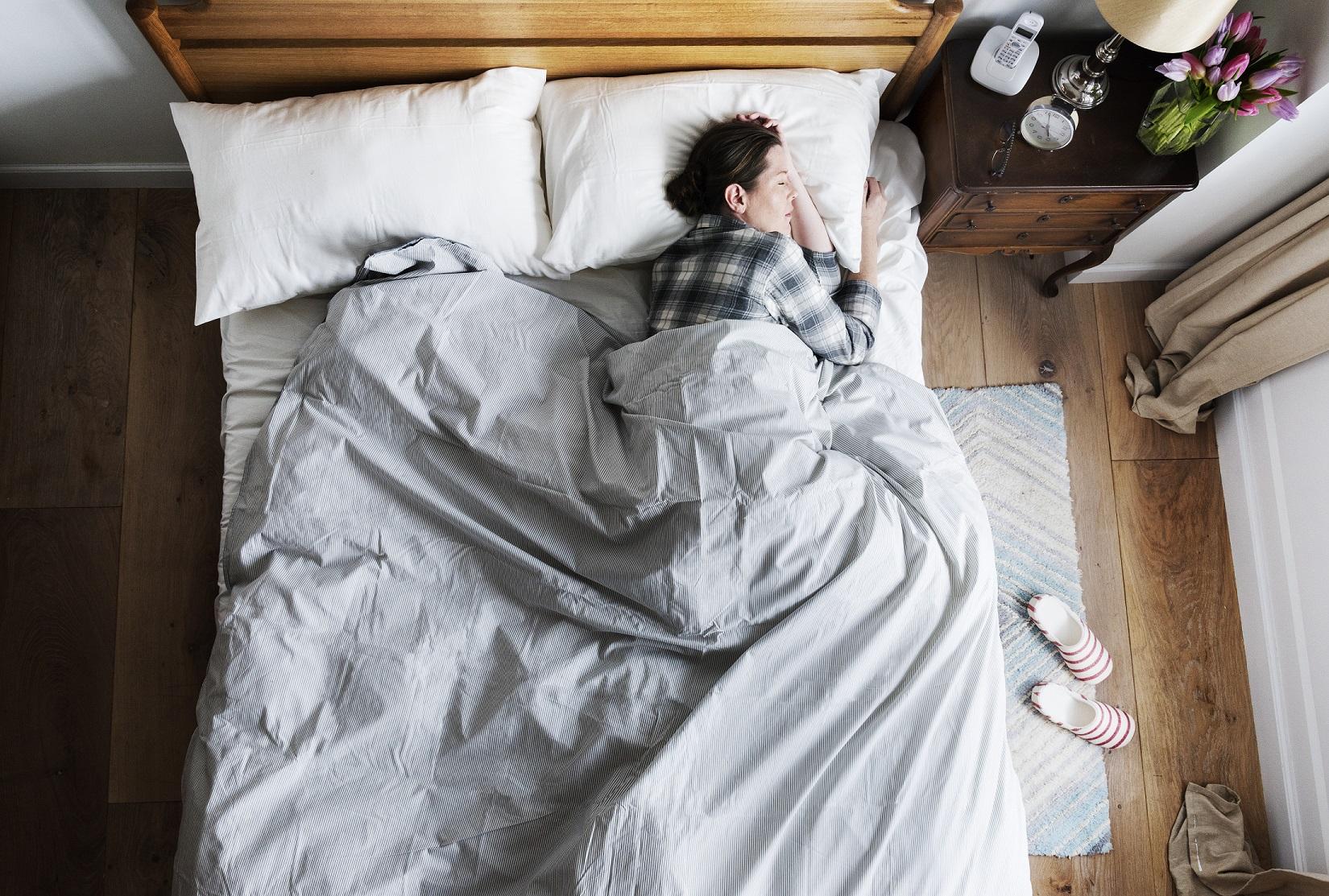 Schlafen statt Schwitzen