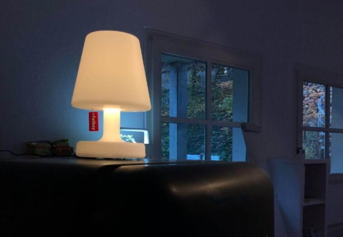 LED Lampe Fatboy - Diese Farben ergänzen sich perfekt