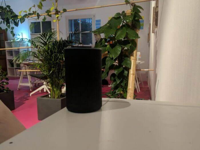 Amazon Alexa Lautsprecher schwarz