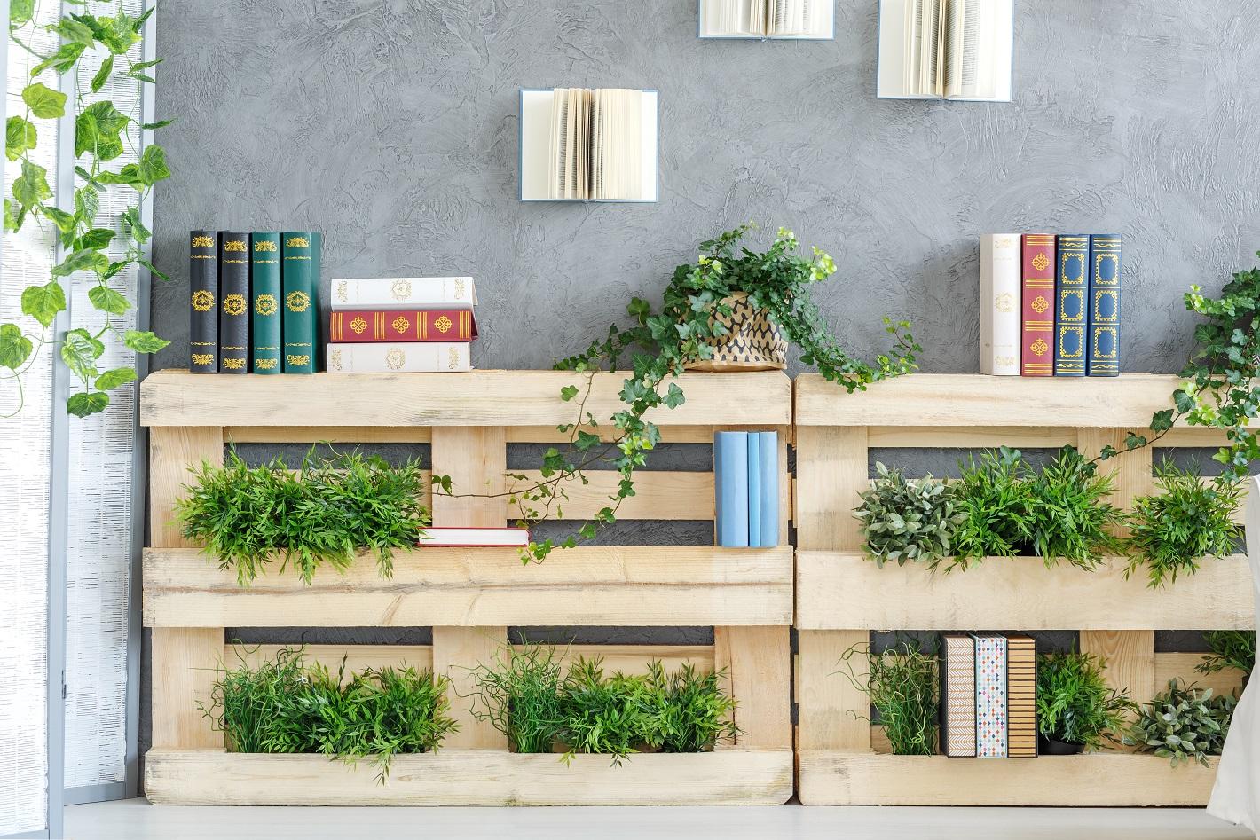 Paletten Garten - für Zimmer oder Balkon