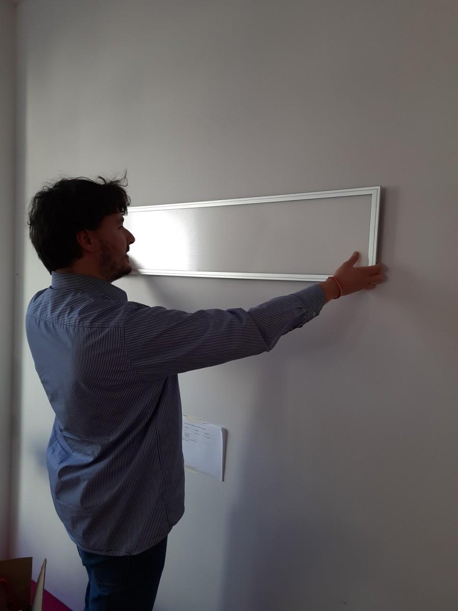 Zuhause Wohlfühlen: Vollspektrum Licht einfaches aufhängen