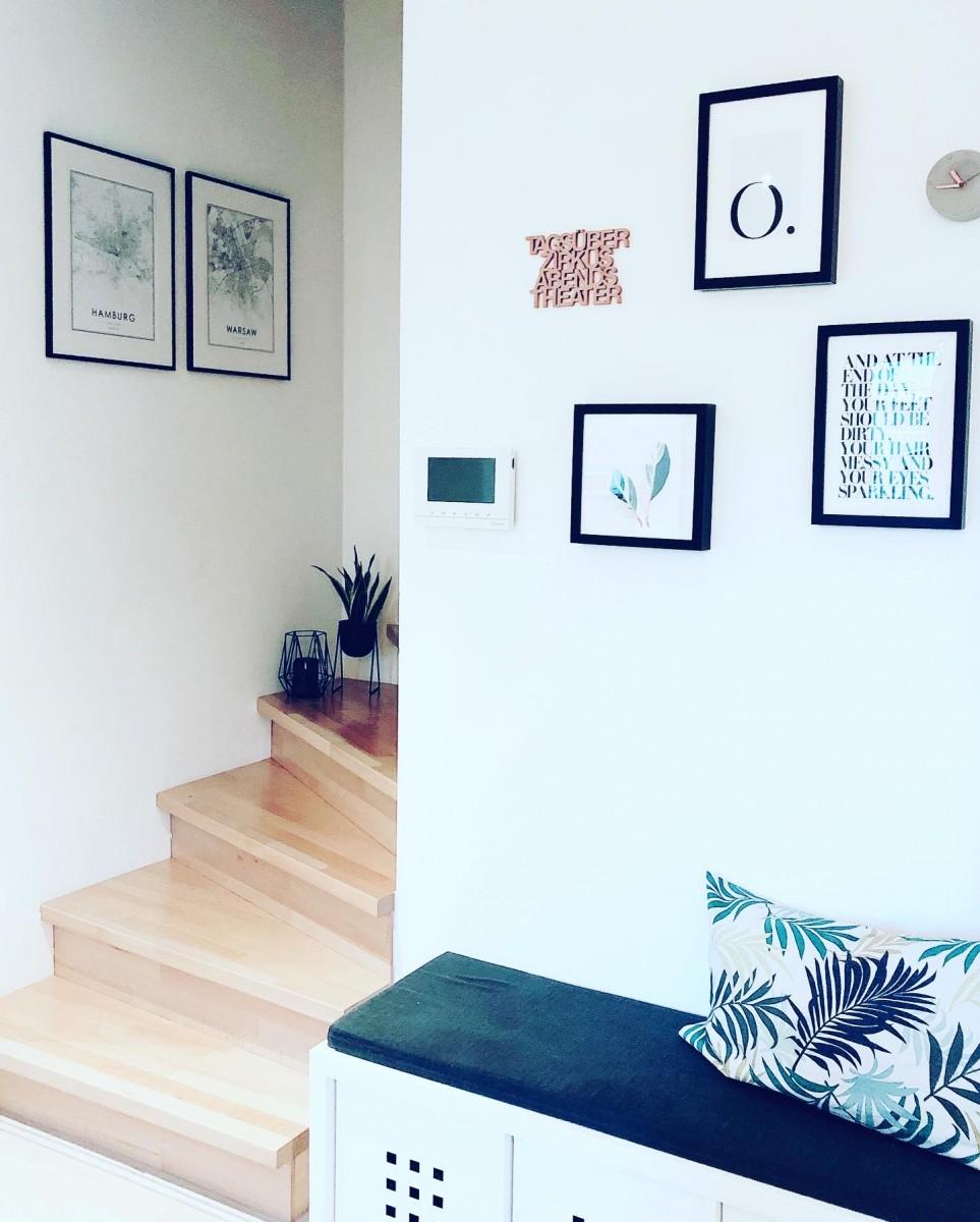 Doro's Haus folgt einem skandinavischen Industrial-Konzept.