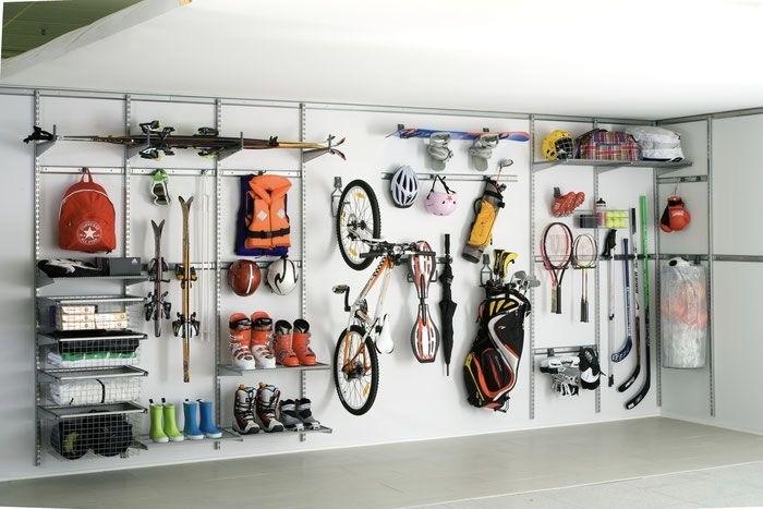 Ordnung auch in der Garage