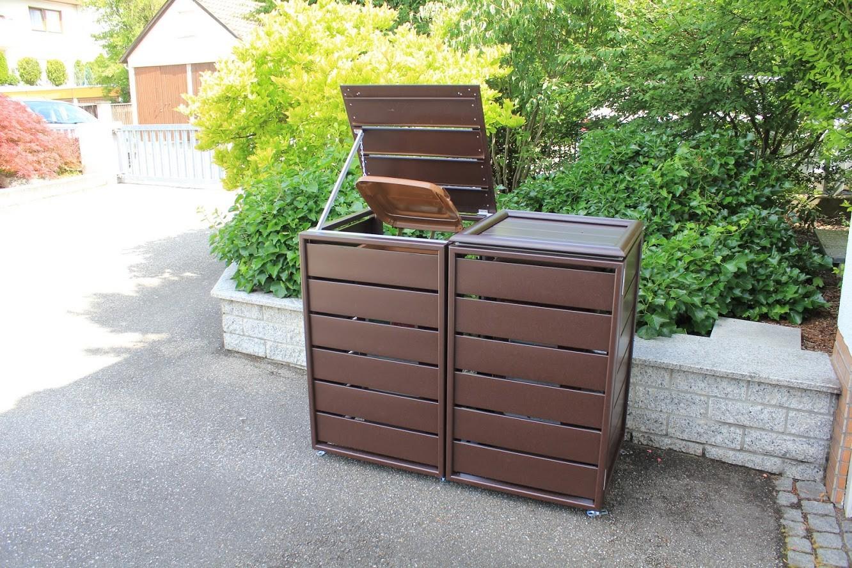 Mülltonnenboxen von Inabox