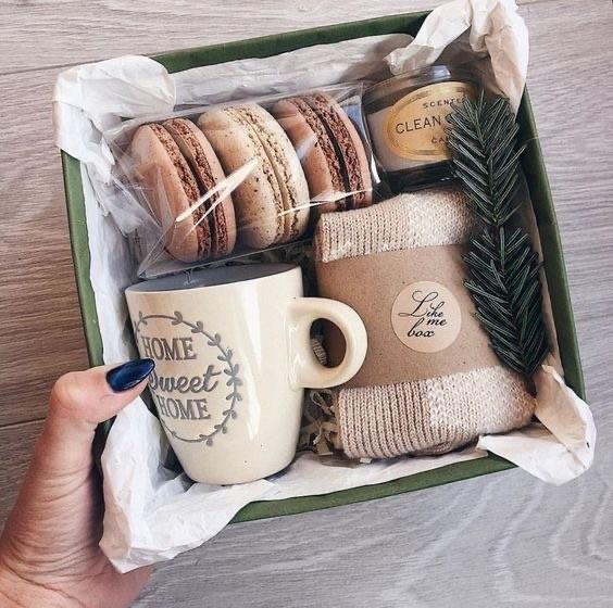 Geschenke Last Minute - Inspiration mit Keksen und Tee