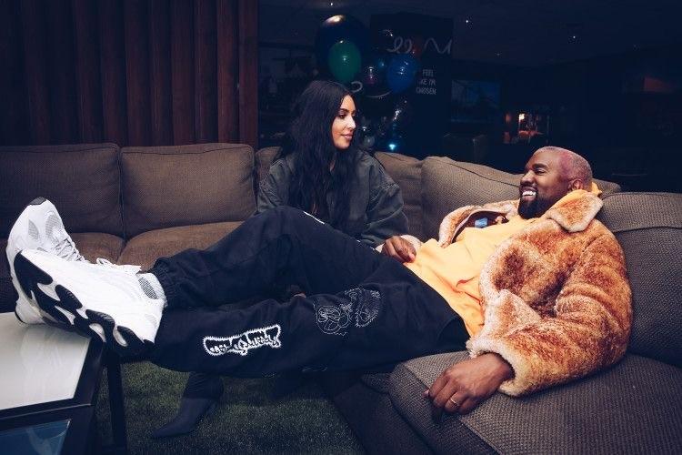 Die Weihnachtsdekoration von Kim Kardashian und Kanye West