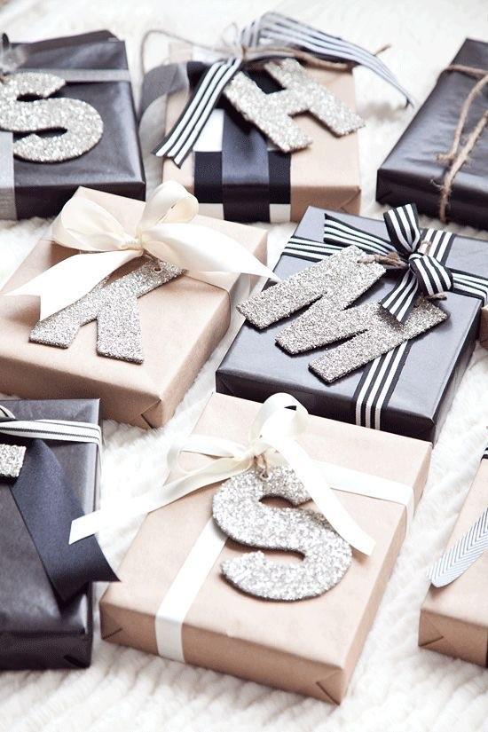 Geschenkpapier und Verpackungsideen