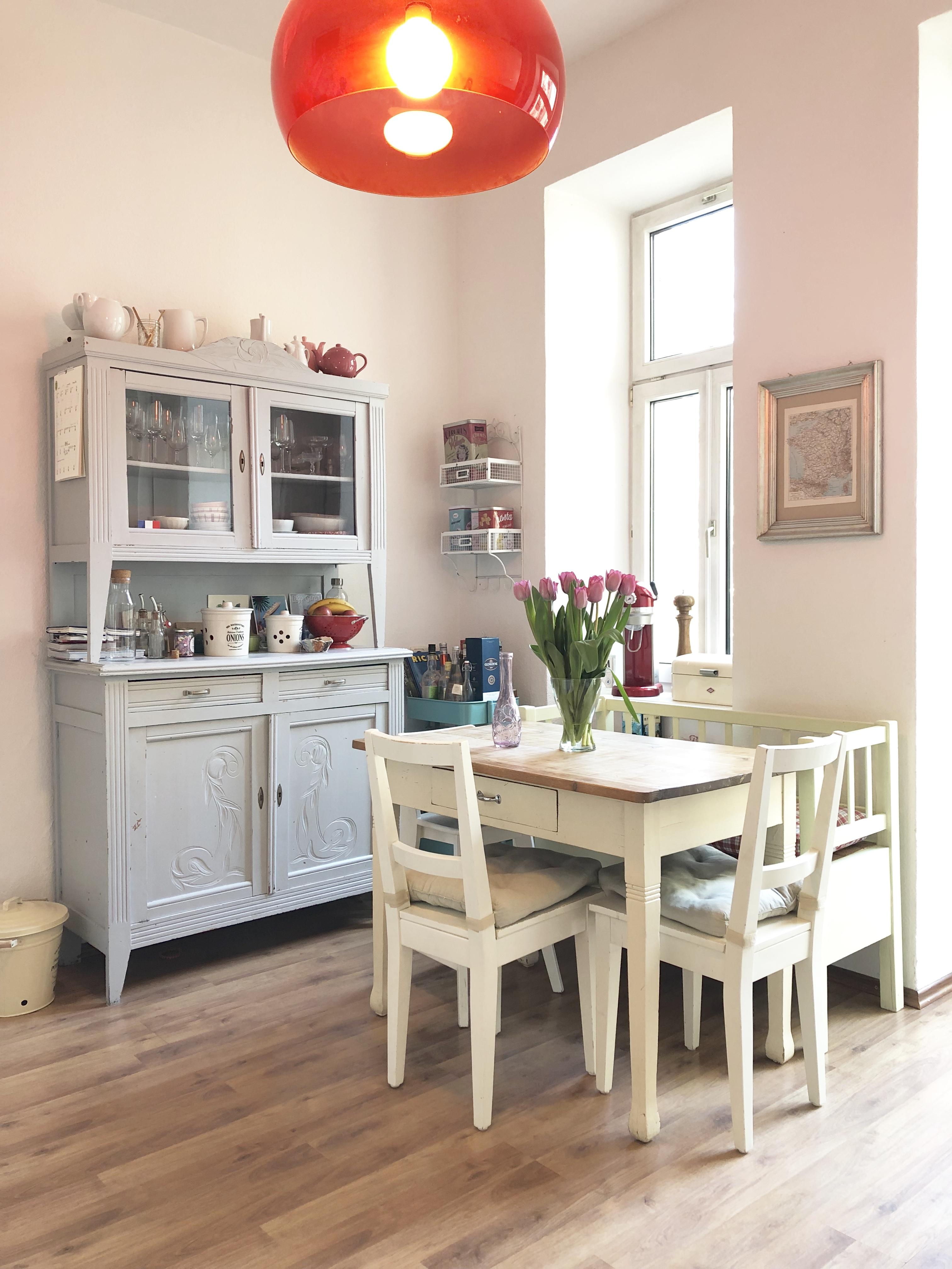 Wohnen, Pflanze, Naturholz, Weiß, Bilderrahmen, Tisch, Stuhl