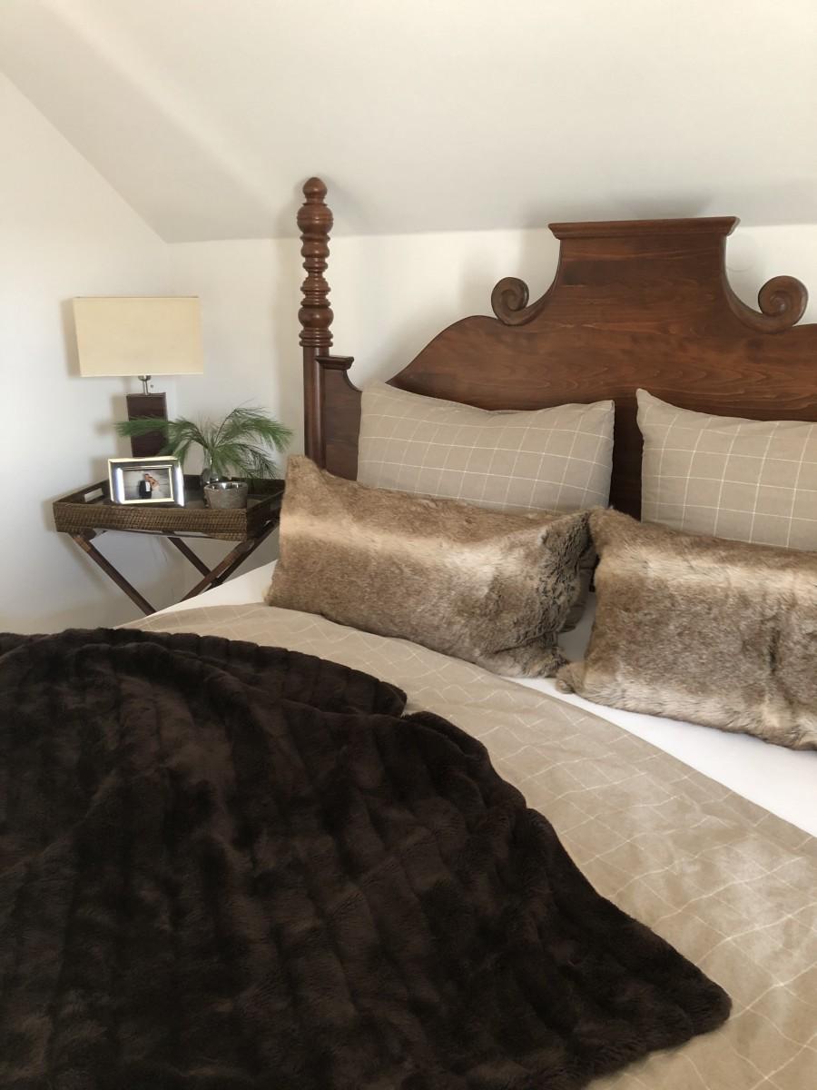 Wohnen, Naturholz, Modern, Licht, Weiß, Bett