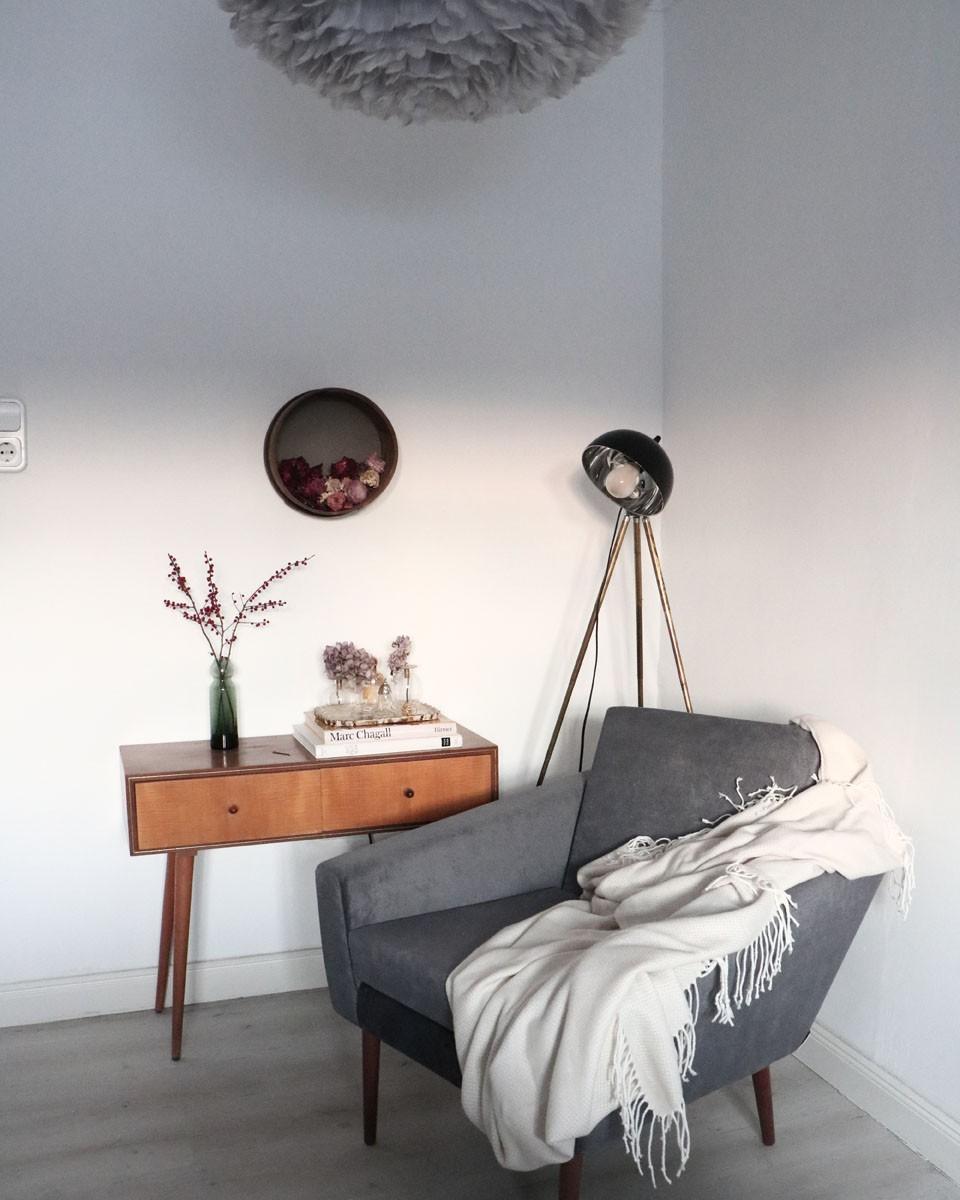 Stuhl, Modern, Pflanze, Sofa, Weiß, Naturholz, Grau