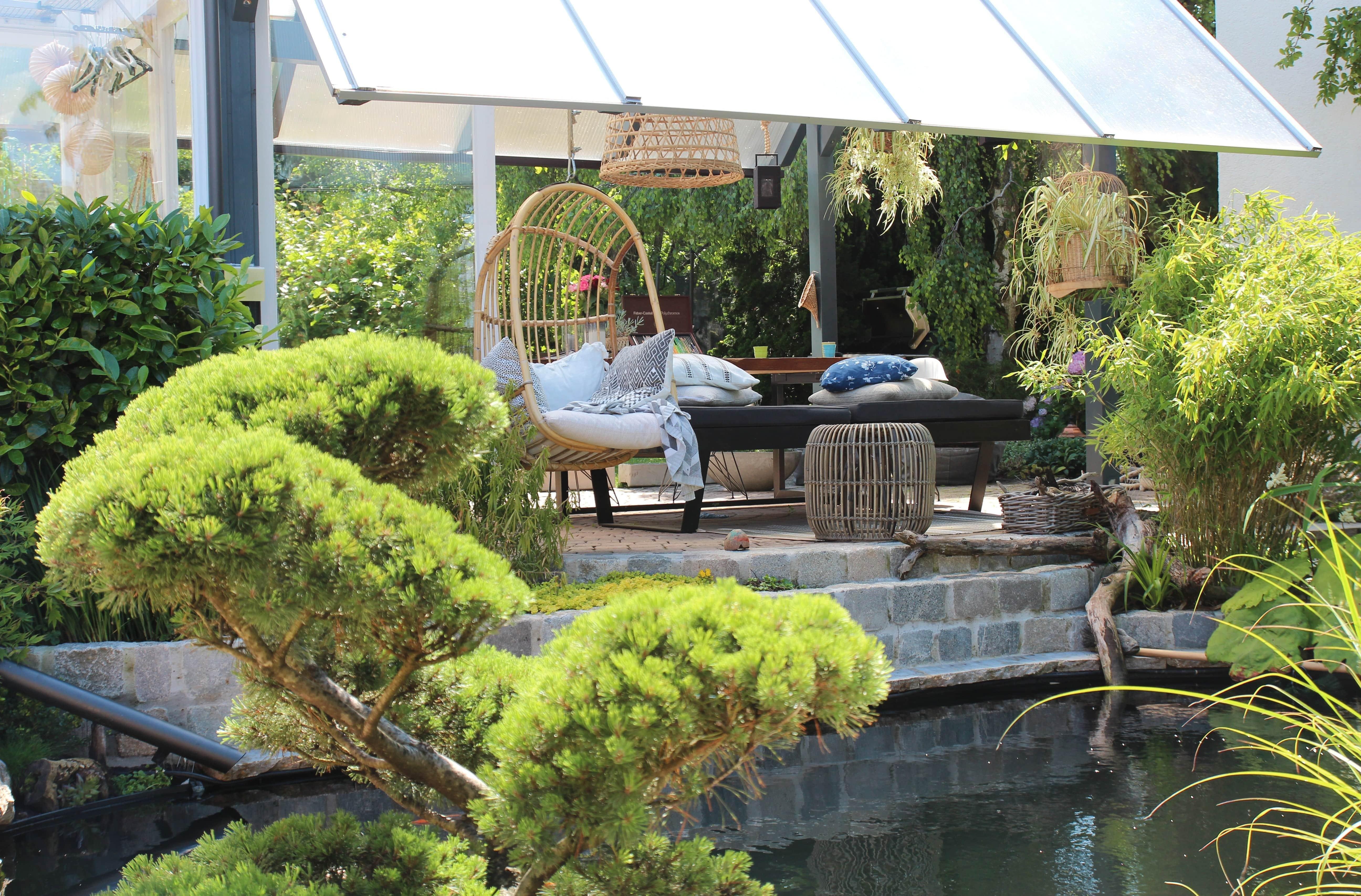 der Garten als gemütlicher Rückzugsort- Zuhause bei Stefanie - Dekoideen und zeitlose Accessoires zeigt sie bei desmondo.de