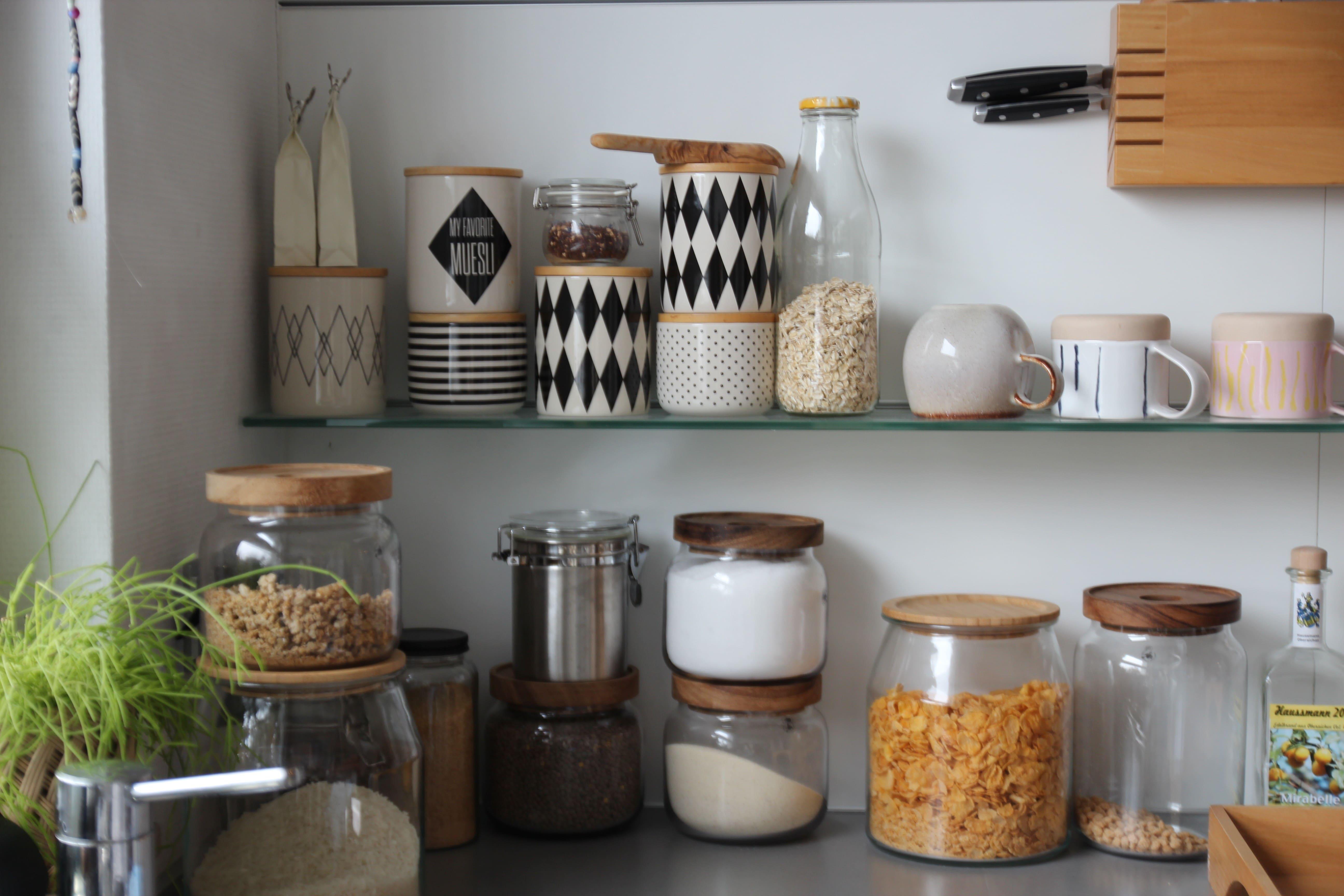 optimale Umverpackung in Glasbehälter - Zuhause bei Stefanie - Dekoideen und zeitlose Accessoires zeigt sie bei desmondo.de