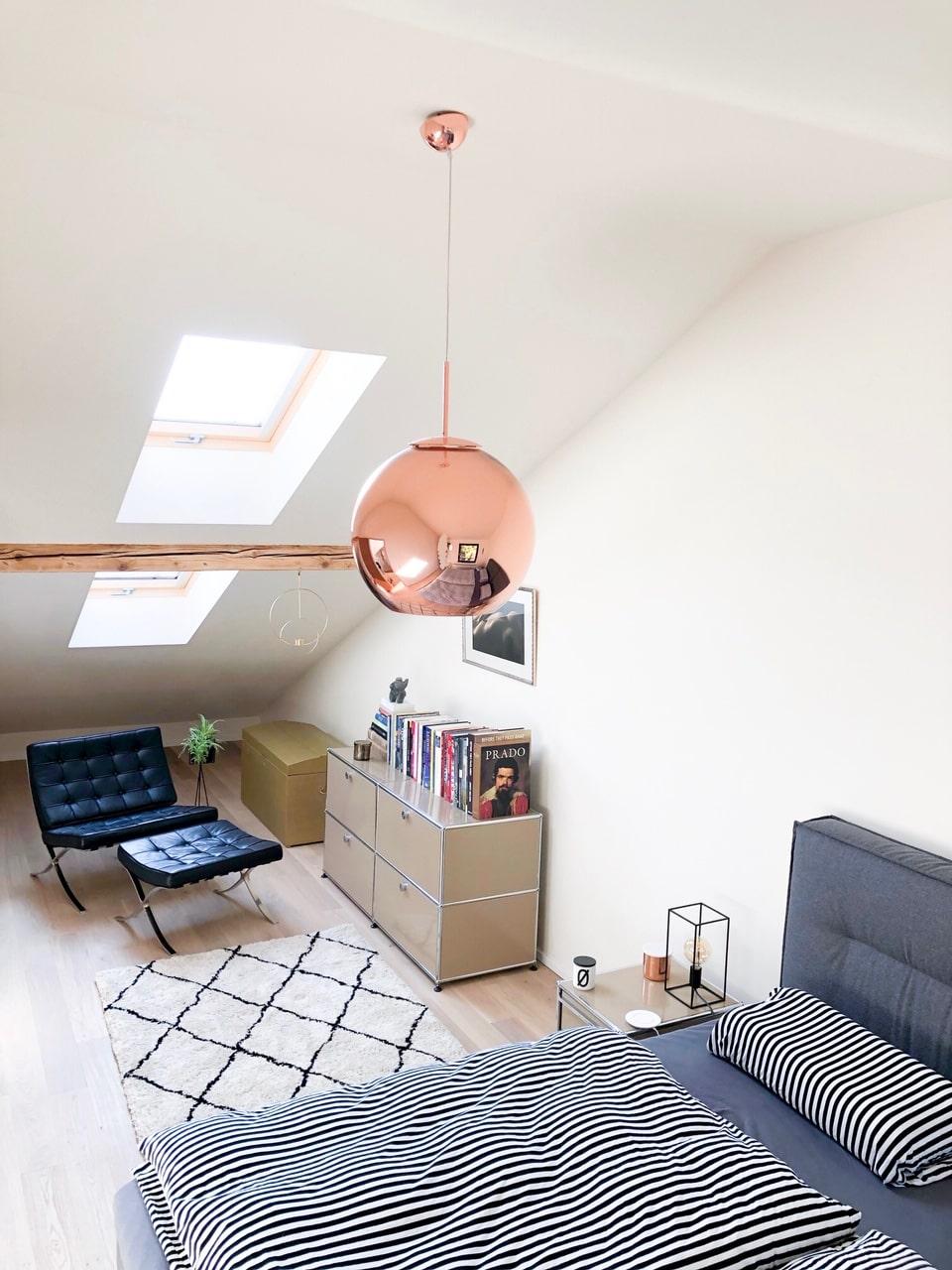 Schlafzimmer  - Zu Hause bei Steffi - Inspirationen und Wohnideen in der Homestory bei DESMONDO