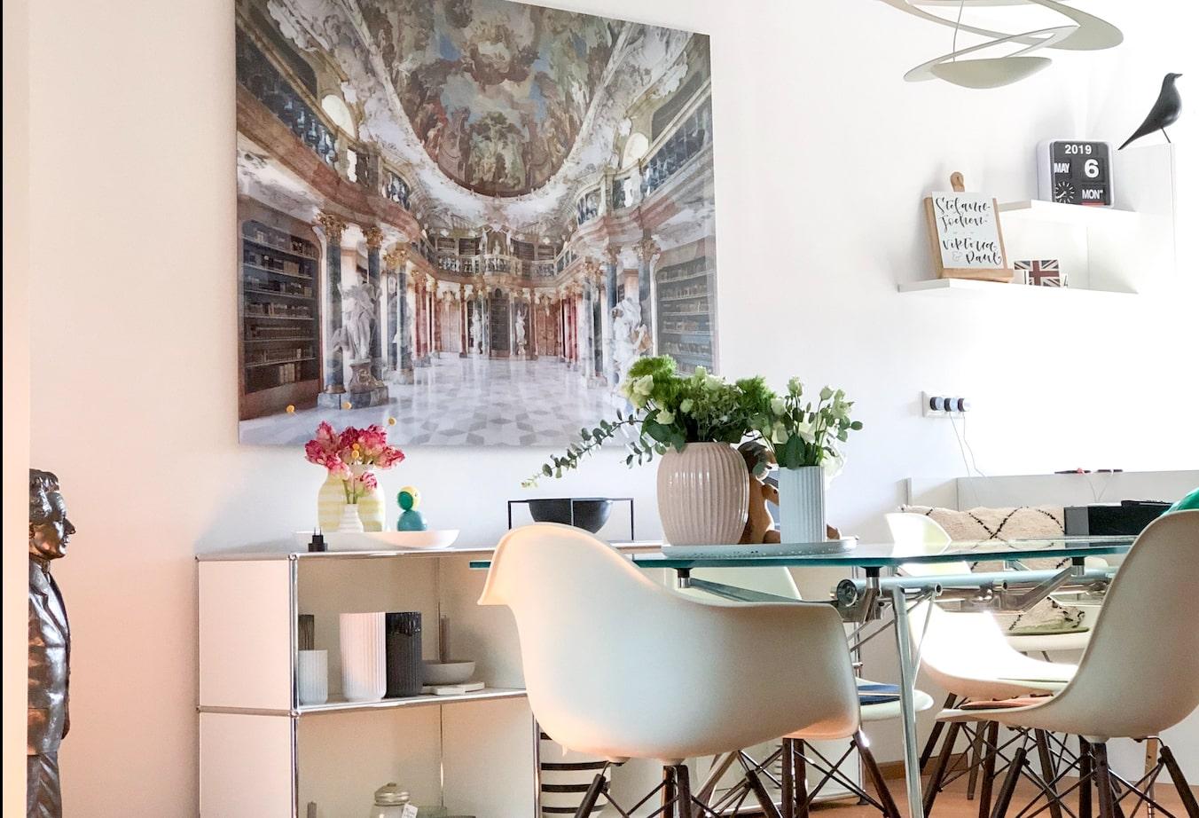 Wohnzimmer  - Zu Hause bei Steffi - Inspirationen und Wohnideen in der Homestory bei DESMONDO